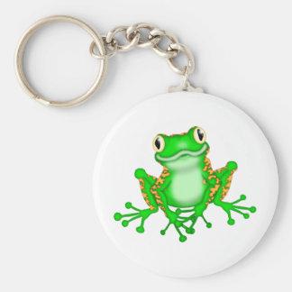 Green Frog Keychain