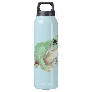 Green Frog Liberty Bottle 16 Oz Insulated SIGG Thermos Water Bottle