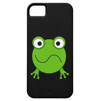 Green Frog. Looking confused. iPhone SE/5/5s Case