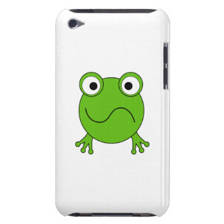 Green Frog. Looking confused. iPod Touch Cover