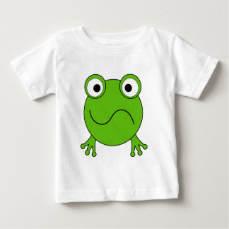 Green Frog. Looking confused. Shirts