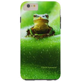 Green Frog Macro Phone Case Tough iPhone 6 Plus Case