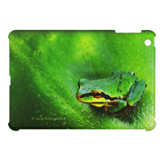 Green Frog Macro Phone Case Horizontal iPad Mini Cases