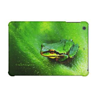 Green Frog Macro Phone Case Horizontal iPad Mini Retina Covers