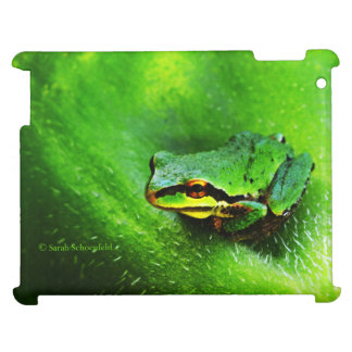 Green Frog Macro Phone Case Horizontal Case For The iPad 2 3 4