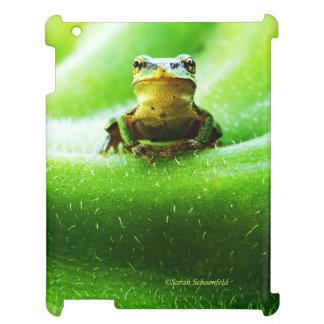 Green Frog Macro Phone Case iPad Cover