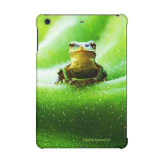 Green Frog Macro Phone Case iPad Mini Cover