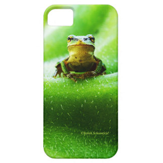 Green Frog Macro Phone Case iPhone 5 Covers