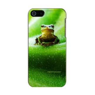 Green Frog Macro Phone Case Incipio Feather® Shine iPhone 5 Case