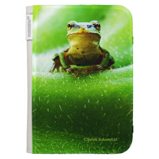Green Frog Macro Phone Case Kindle 3G Case
