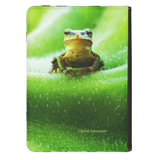 Green Frog Macro Phone Case Kindle Cover