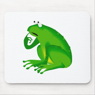 Green Frog Mouse Pad