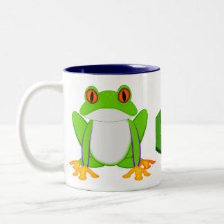 Green Frog Mugs