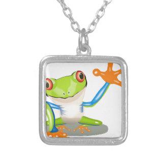 Green Frog Pendant