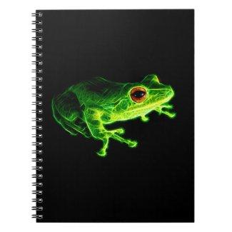 Green Frog Notebook