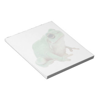 Green Frog Notepad (2) sizes