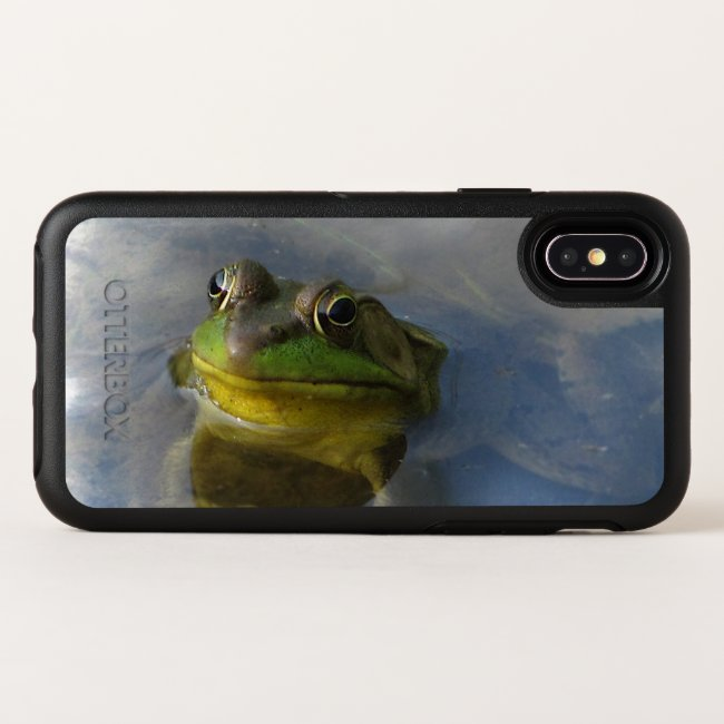 Green Frog OtterBox iPhone X Case