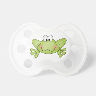 Green Frog Pacifier