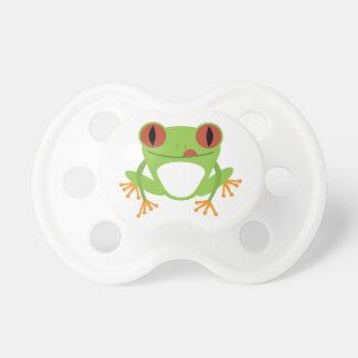 Green Frog BooginHead Pacifier