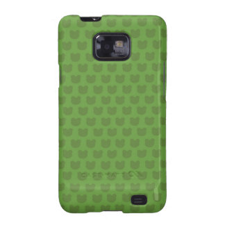Green Frog Pattern Galaxy S2 Covers