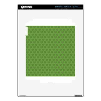 Green Frog Pattern iPad 3 Decals