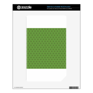 Green Frog Pattern Decal For NOOK Color
