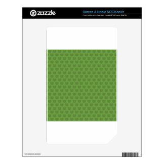 Green Frog Pattern Skin For NOOK Color