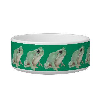 Green Frog Pet Bowls (2) sizes
