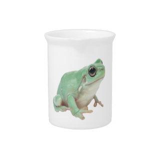Green Frog Pitchers 19oz.