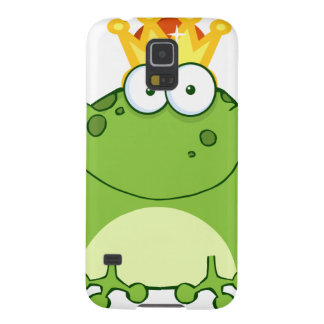 Green Frog Prince Cartoon Character Galaxy S5 Covers