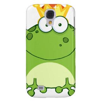 Green Frog Prince Cartoon Character Samsung Galaxy S4 Case