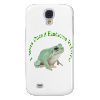 Green frog prince galaxy s4 cover