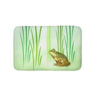 Green Frog Princess Charming Bath Mats