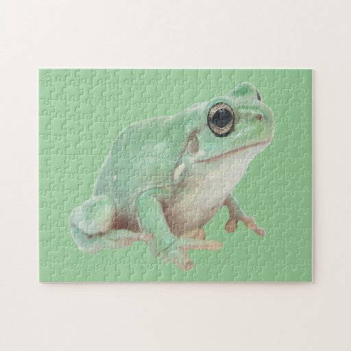 Green Frog Puzzle (2) sizes