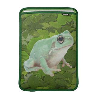 Green Frog Rickshaw Sleeve Sleeves For MacBook Air