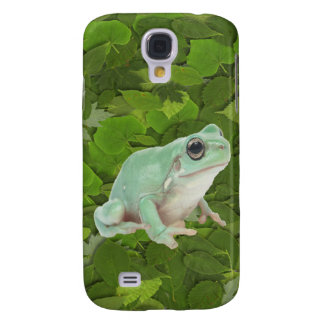 Green Frog Samsung Galaxy S4 Covers