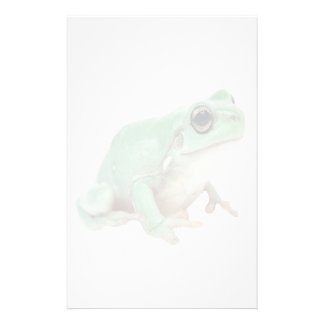 Green Frog stationery