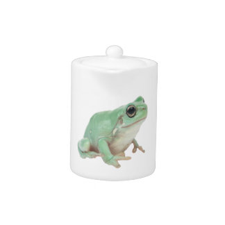 Green Frog Teapot (2) sizes
