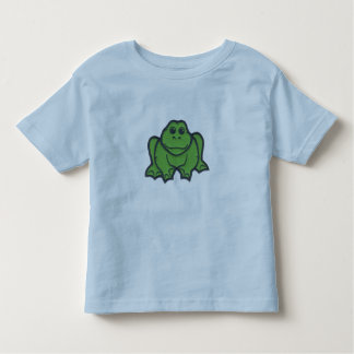 Green Frog Toddler T-shirt