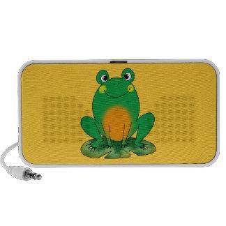 Green frog travel speaker