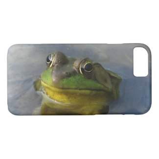 Green Frog with Attitude Animal iPhone 7 Case
