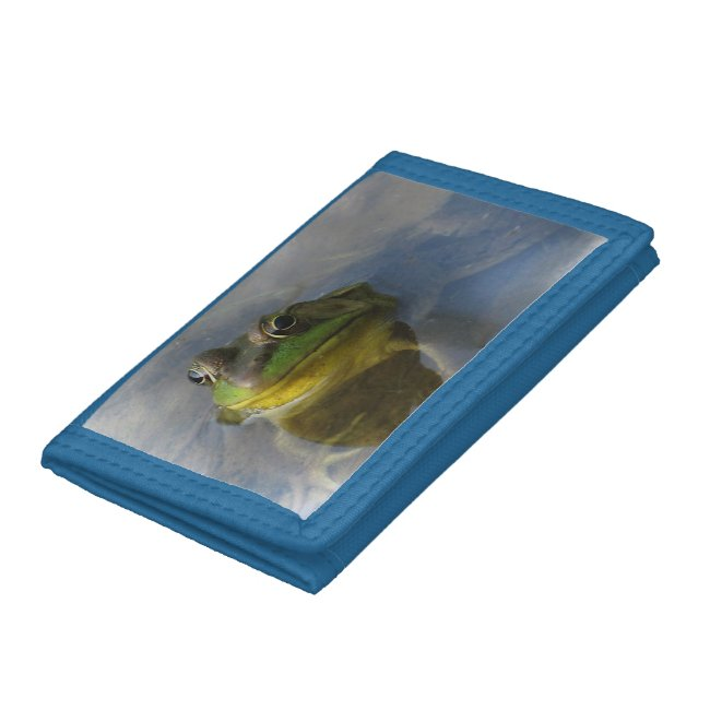 Green Frog with Attitude Wallet