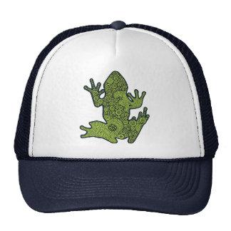 Green Froggy Trucker Hat