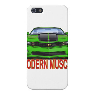 GREEN_FRONT_CAMARO.png Cover For iPhone SE/5/5s