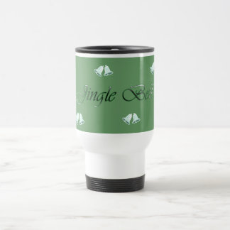 Green/frosted white Jingle Bells Christmas Mug