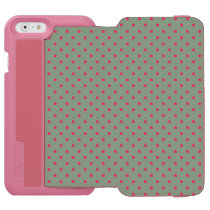 Green/Fuchsia Incipio Watson iPhone 6 Wallet Case