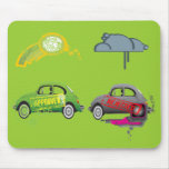 Green Fun Mousepad