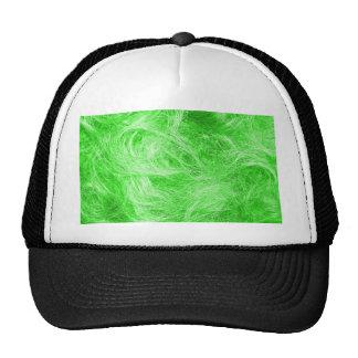 Green Fur Trucker Hat