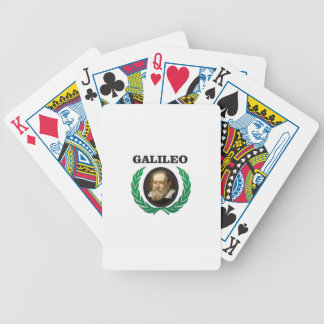 green galileo bicycle playing cards