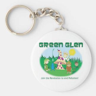 Green Gang Glen II Keychain